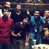 出会った友達は、日本人より他国の方が多い!!